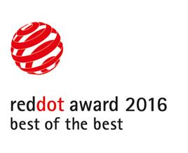 Premio Red Dot 2016 Mejor de lo mejor