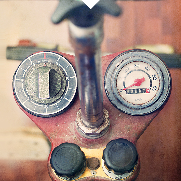 old bike console