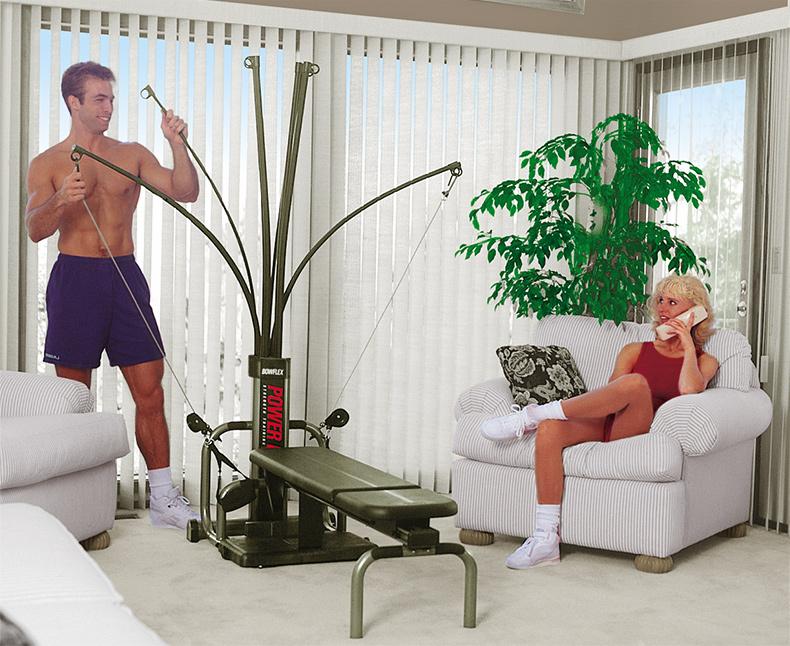 Bowflex 家庭健身房始于二十世纪八十年代