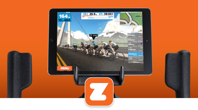 Zwift connectivity with 800IC Bike